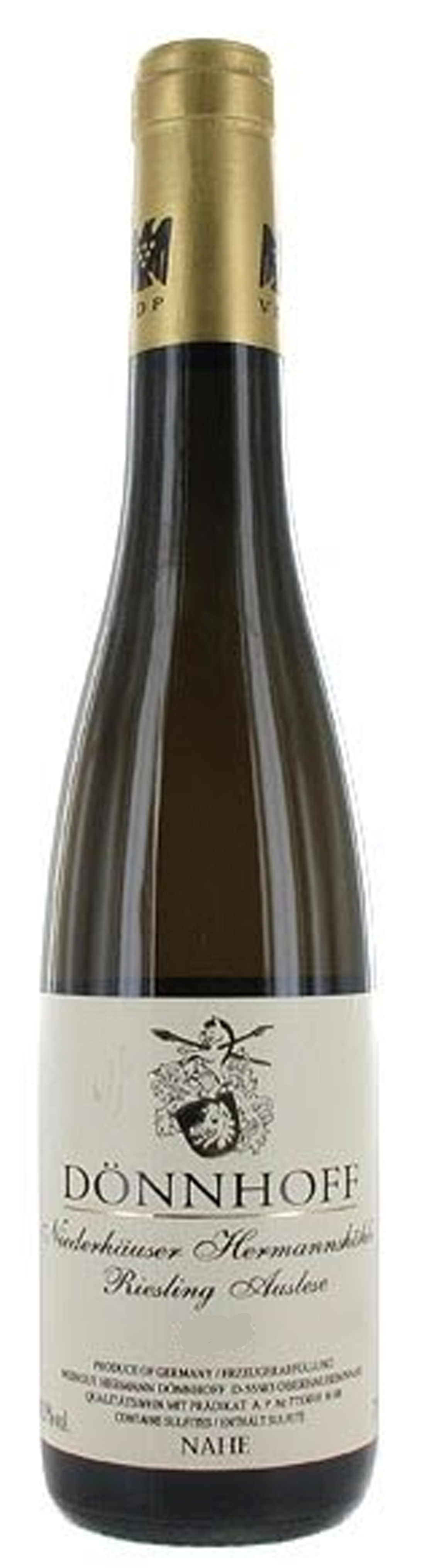 Image of product Neiderhauser Hermannshöhle Riesling Aus Gold Cap