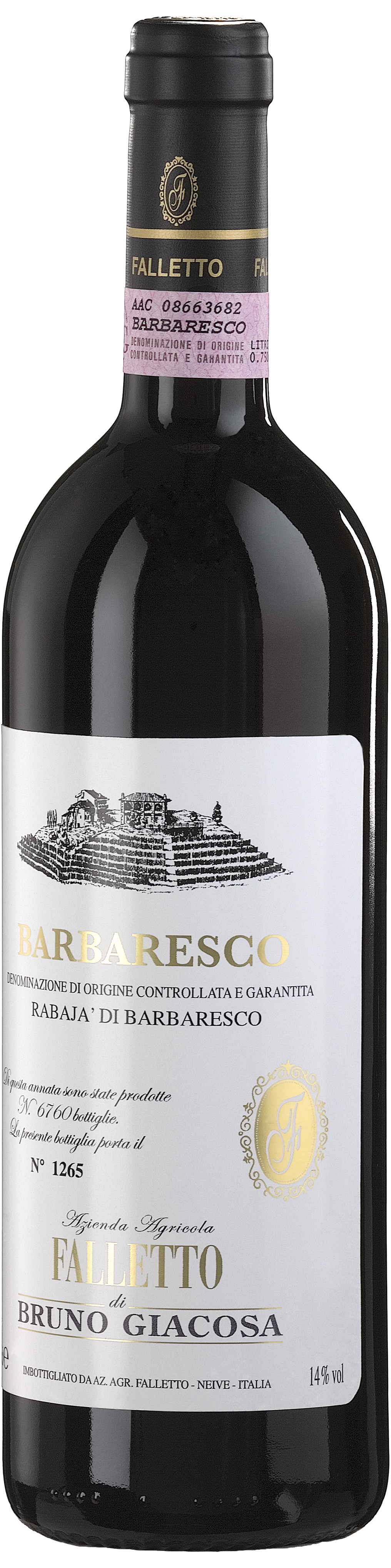 Image of product Barbaresco Rabajà