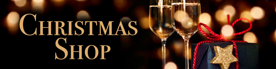 Armit Wines Christmas shop banner