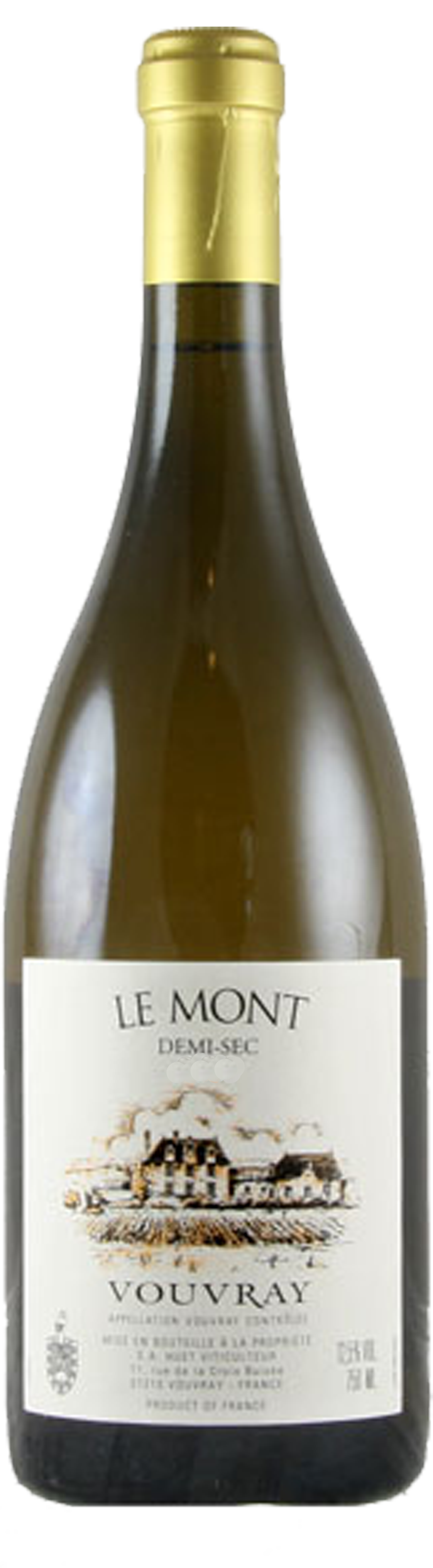 Image of product Vouvray Le Mont Demi-Sec