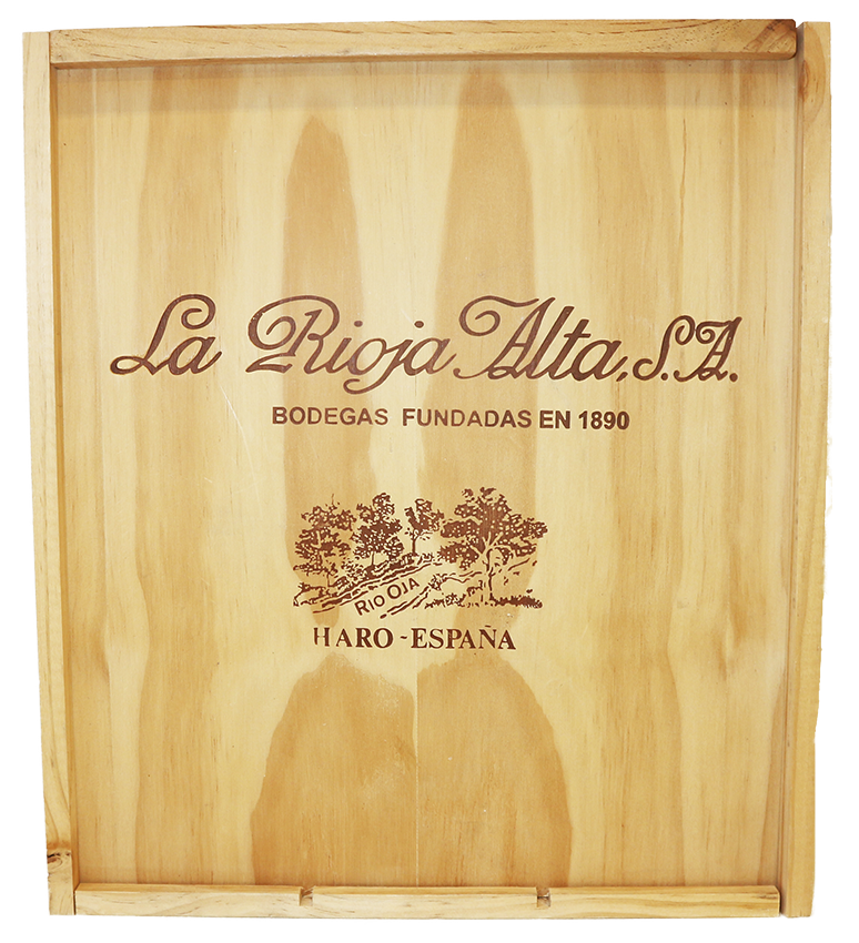 Image of product Viña Ardanza 3 bottle wooden case